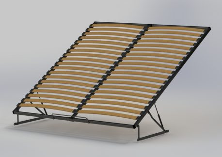 Metalowe stelaże do łóżek Melfi rama